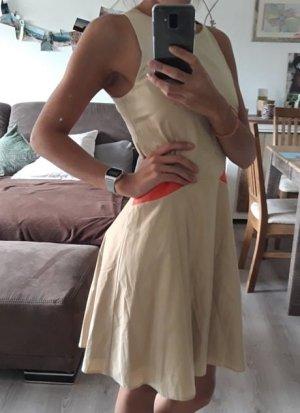 Zalando Sommerkleid, Creme-Fuchsia Größe XS