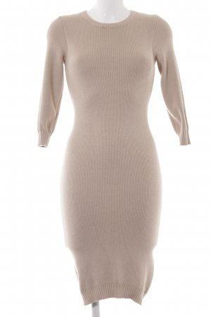 Zalando Strickkleid beige Casual-Look