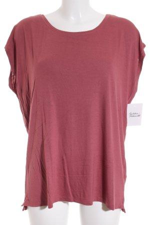 Zalando T-Shirt himbeerrot schlichter Stil