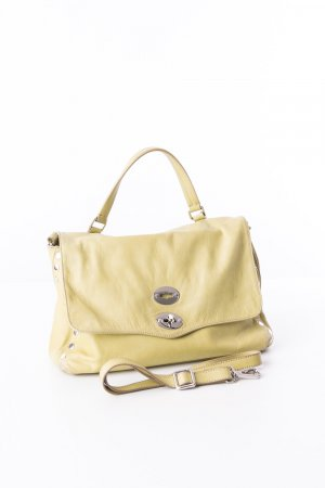 Carry Bag pale green leather