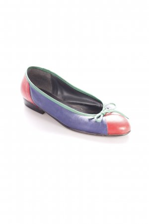 Zanon & Zago Ballerinas Colourblocking Casual-Look