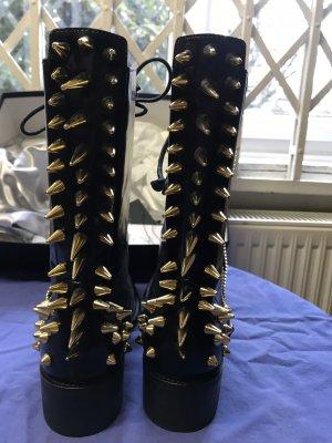 Zanotti Boots mit Spikes neu