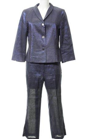 Zapa Traje de pantalón violeta oscuro estilo extravagante