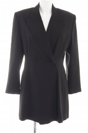 Zapa Long-Blazer schwarz Business-Look