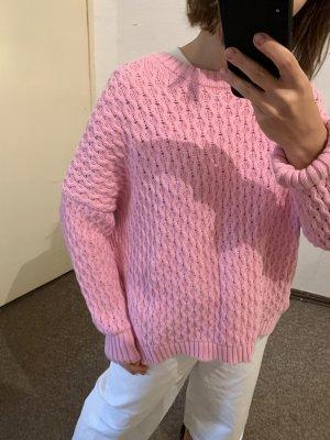 Zara Maglione oversize multicolore Cotone