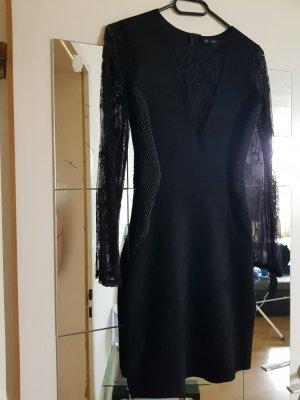 Zara Basic Midi-jurk zwart
