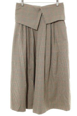 Zara 3/4-broek pied-de-poule patroon vintage uitstraling