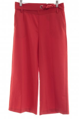 Zara 3/4 Length Trousers red casual look