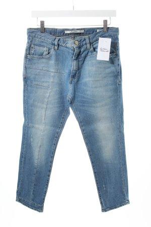 Zara 3/4 Jeans blau Casual-Look