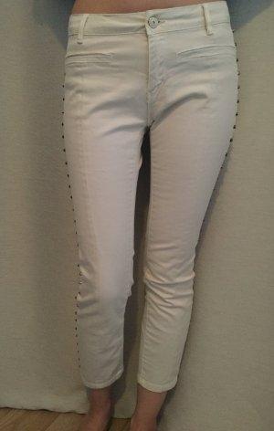 Zara Jeans 3/4 crème