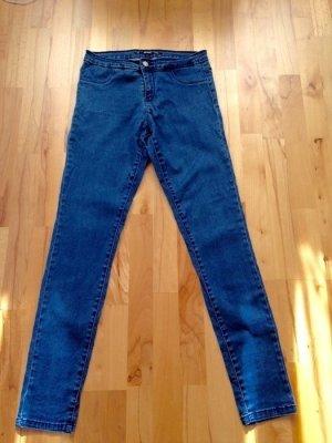 Zara Jeans taille haute bleu