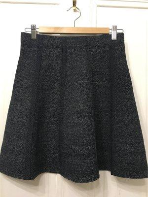 Zara Falda stretch gris antracita-gris claro