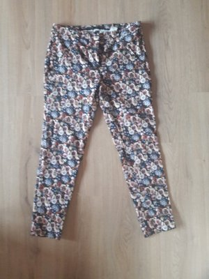 Zara 7/8 Length Trousers pink-azure