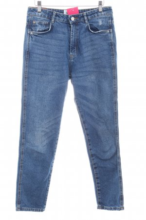 Zara Jeans 7/8 bleu Aspect de jeans