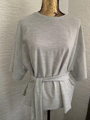 Zara Carmen Blouse light grey
