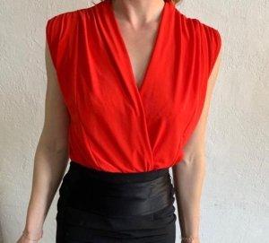 Zara Trafaluc Bodyblouse rood