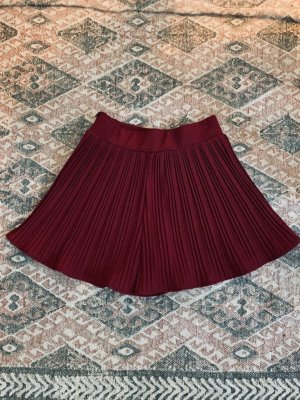 Zara Culotte Skirt bordeaux