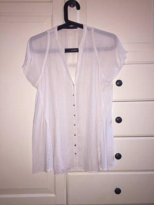 Zara A-Line Bluse mit zarten Metallknöpfen