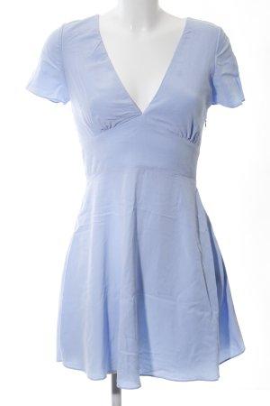 Zara A-Linien Kleid blau Casual-Look