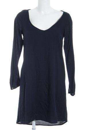 Zara A-Linien Kleid dunkelblau Casual-Look