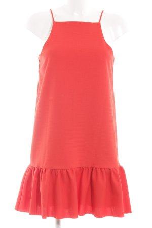 Zara A-Linien Kleid rot Casual-Look
