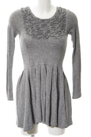 Zara A-Linien Kleid grau Business-Look