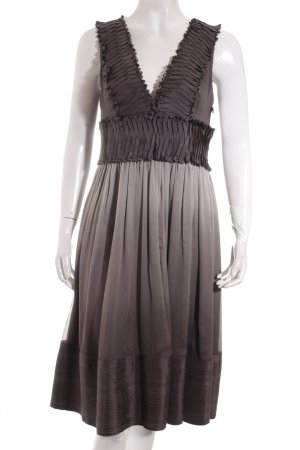 Zara Robe trapèze gris-gris clair style décontracté