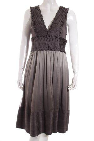 Zara A-Linien Kleid grau-hellgrau Casual-Look