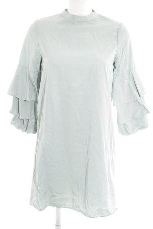 Zara Vestido línea A menta estilo extravagante