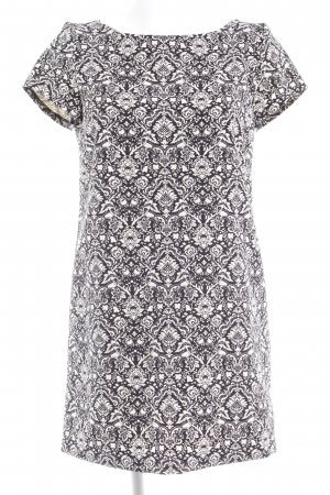 Zara A-Linien Kleid schwarz abstraktes Muster Casual-Look