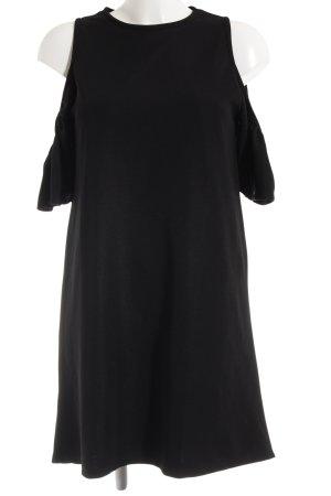 Zara A-Linien Kleid schwarz Boho-Look