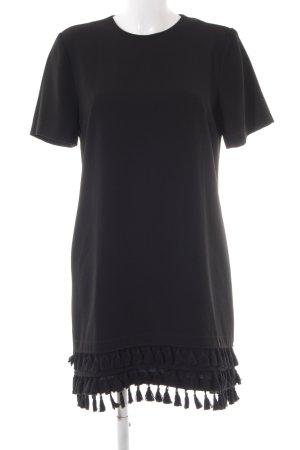 Zara A-Linien Kleid schwarz Business-Look