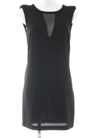 Zara A-Linien Kleid schwarz Elegant