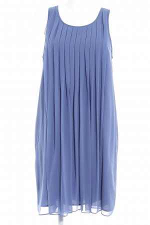 Zara A-Linien Kleid stahlblau Casual-Look