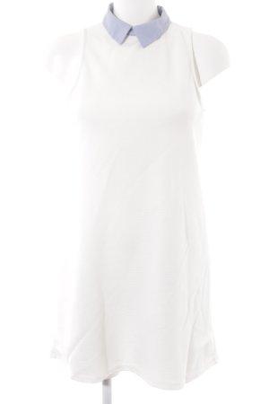Zara A-Linien Kleid Streifenmuster Business-Look