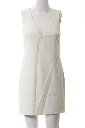 Zara A-Linien Kleid weiß Business-Look