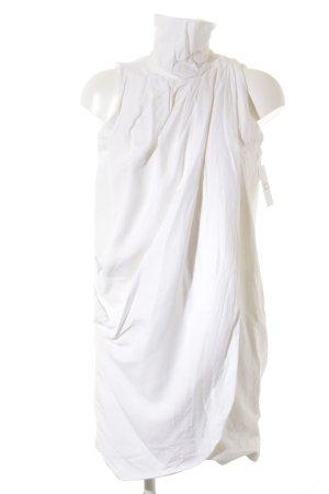 Zara Robe trapèze blanc élégant