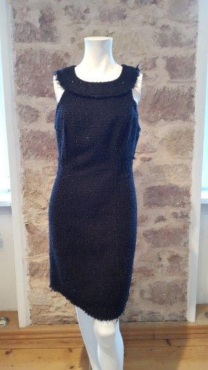 ZARA Abendkleid aus Boucle mit Metallfäden Größe 38/40