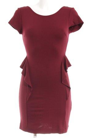 Zara Abendkleid bordeauxrot Elegant