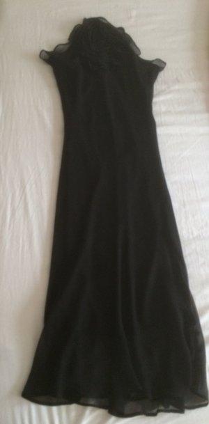 Zara Abendkleid elegant lang in schwarz