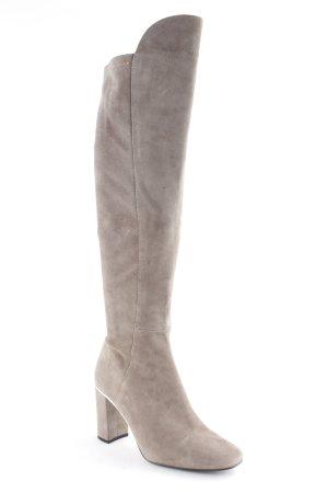 Zara Absatz Stiefel graubraun Casual-Look
