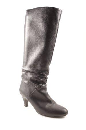 Zara Bottes à talon noir style décontracté