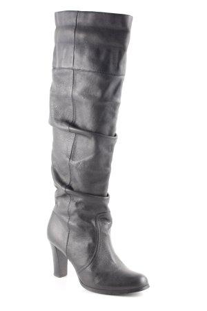 Zara Absatz Stiefel schwarz klassischer Stil