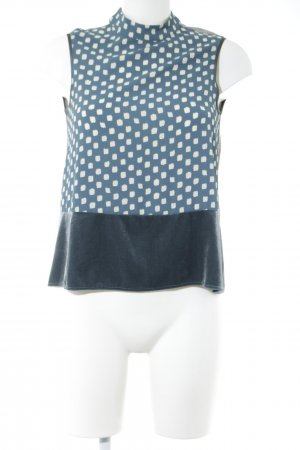 Zara ärmellose Bluse Allover-Druck Casual-Look