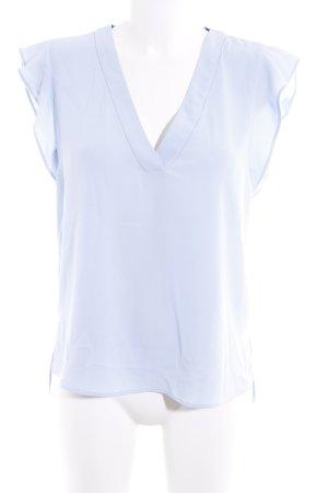 Zara ärmellose Bluse himmelblau Elegant