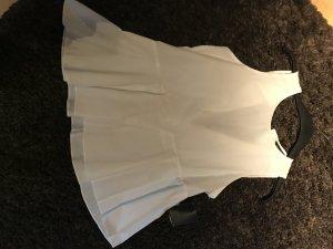 Zara, ärmellose Bluse , weiß, xs mit Knöpfen am Rücken