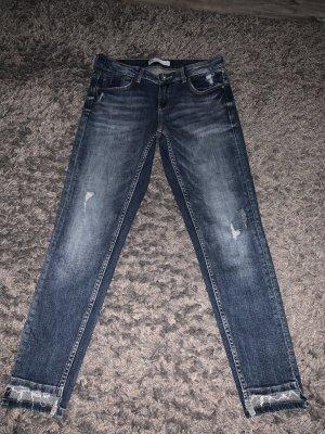 Zara Jeans skinny blu