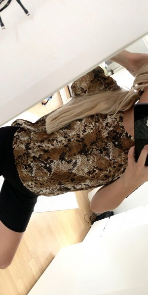 Zara Animal Print Shirt