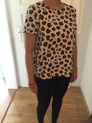 Zara Animal Print Shirt Gr L