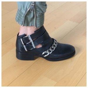 Zara Low boot noir-argenté